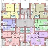 Планування квартир у будинку №86 (3-тя черга)