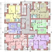 Планування квартир у будинку №87 (3-тя черга)