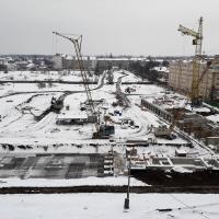 Хід будівництва ІV черги, березень 2018