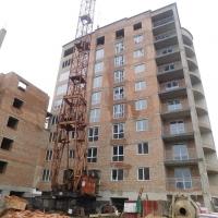 Хід будівництва будинку №43 станом на грудень 2017 року