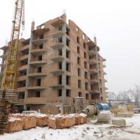 Хід будівництва будинку №42, станом на лютий 2018