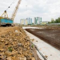 Хід будівництва ІV черги, липень 2018